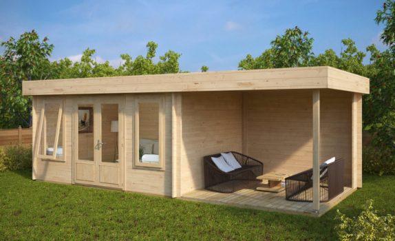 Современный домик с террасой JACOB D