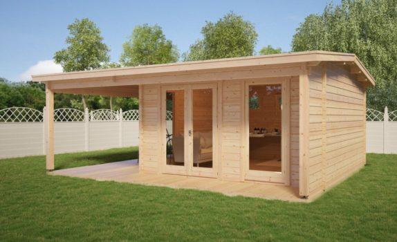 Классический домик с террасой STUDIO XL