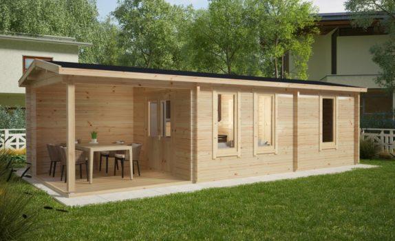 Классический домик со спальней CAMPING